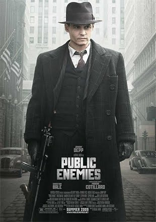 Public Enemies 2009 BRRip 720p Dual Audio In Hindi English ESub