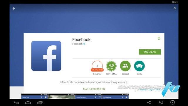 BlueStacks Emulador Android 0.9 Español