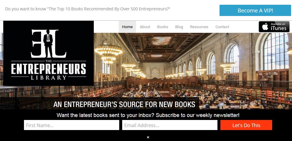 Top 25 Blogs for Entrepreneurs in 2018