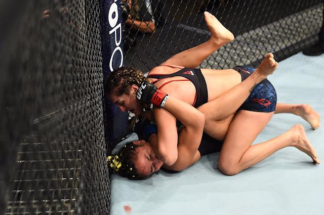 UFC 228 Tatiana Suarez def. Carla Esparza