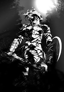 Goblin Slayer adalah petualang berperingkat perak yang hanya menerima tugas memburu goblin