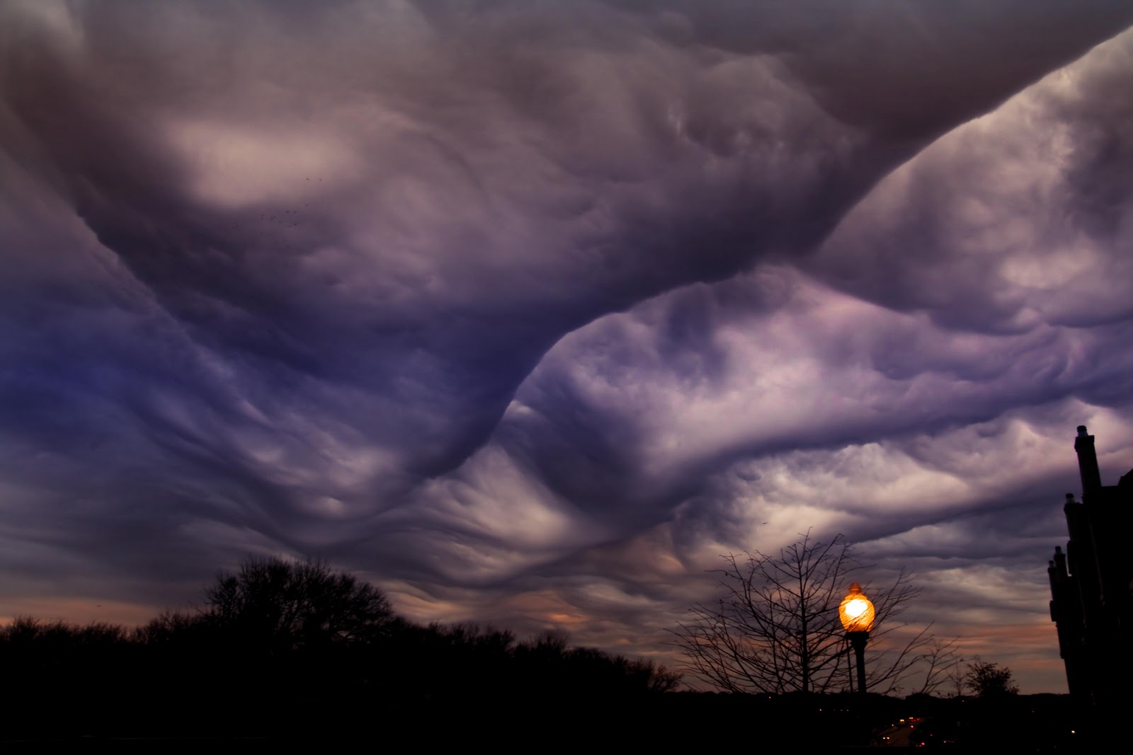 The breathtaking undulatus asperatus clouds