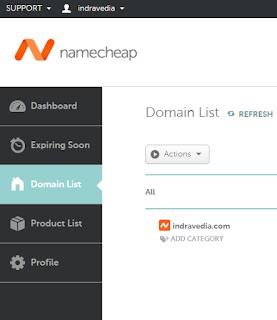 Jika teman hingga ke artikel ini dan sedang membacanya kini Salam -  Cara Sewa / Daftar Domain di Namecheap.com