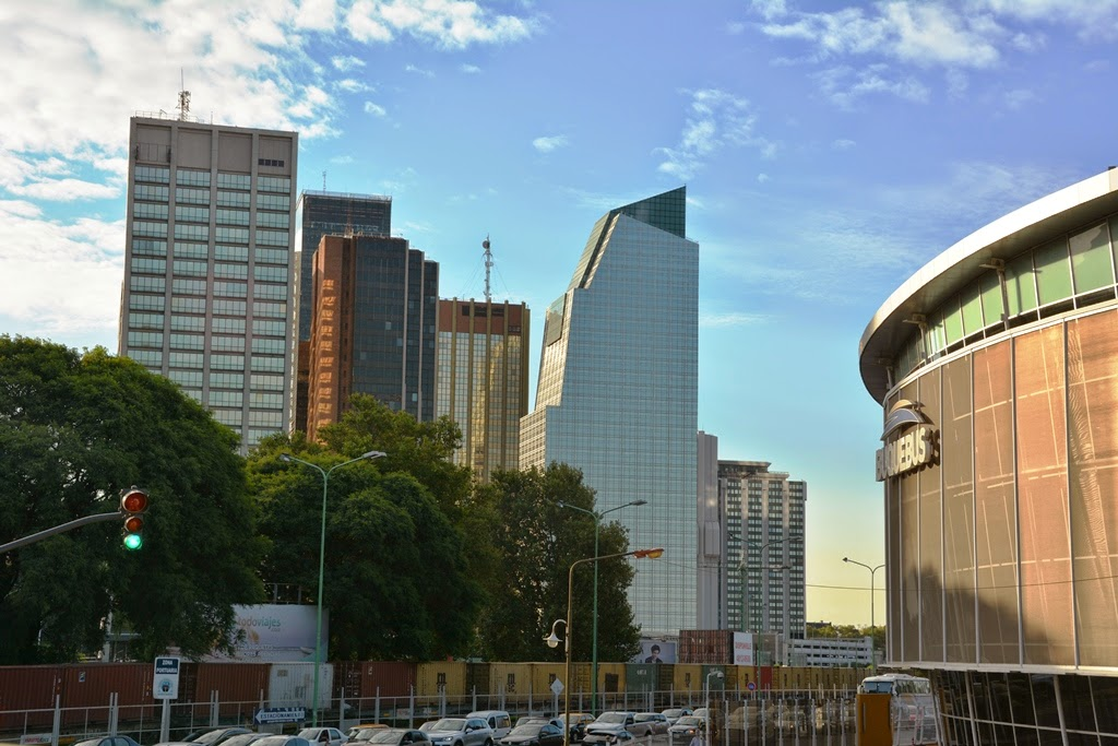 Modern Buildings of Puerto Madero Buenos Aires