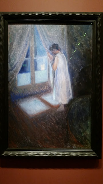 Painting from 1893 by Norwegian artist Munch