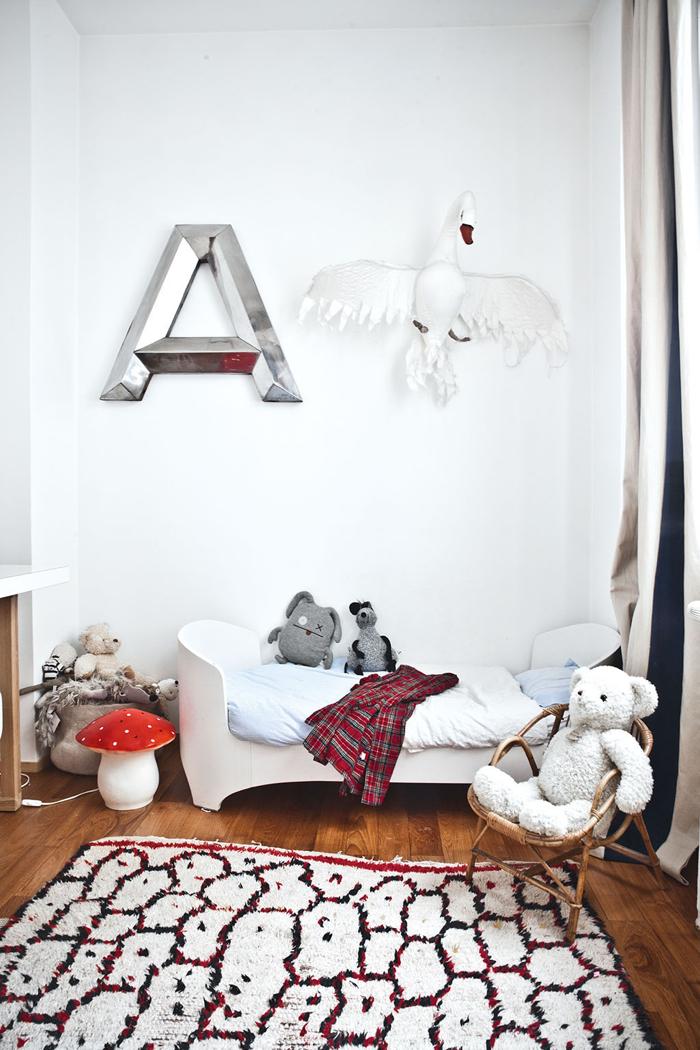 Rafa-kids : children's rooms with moroccan rugs