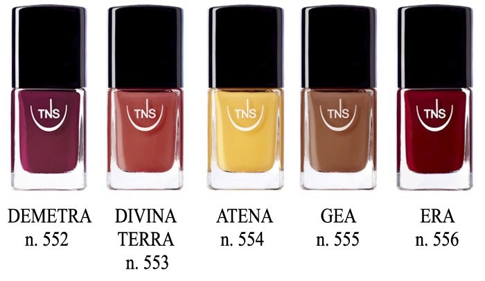 Smalti TNS Cosmetics Firenze Divina Terra #unghie #nails