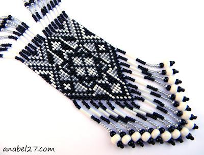 купить украшения из бисера в интернет магазине  гердан в этническом стиле