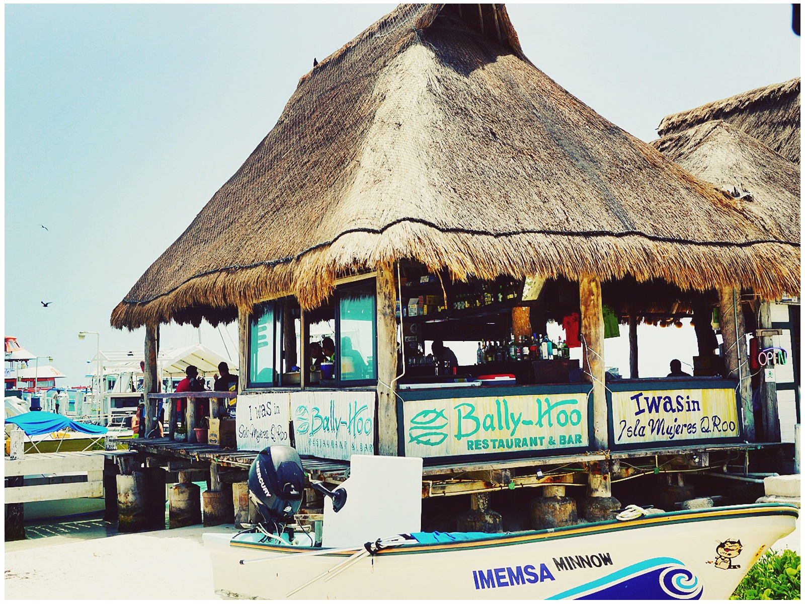 Ben's Best Bars: Bally Hoo Isla Mujeres - A must see!