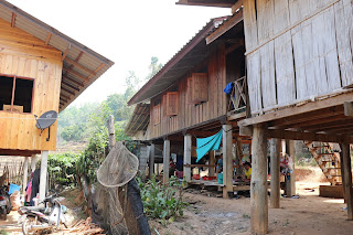 The Karen Hill Tribe Village House