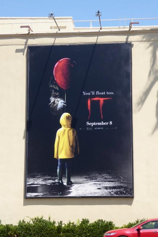 IT Movie billboard