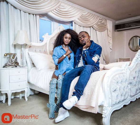 Ice Prince shares raunchy bedroom photos with Tanzanian singer Vee Money