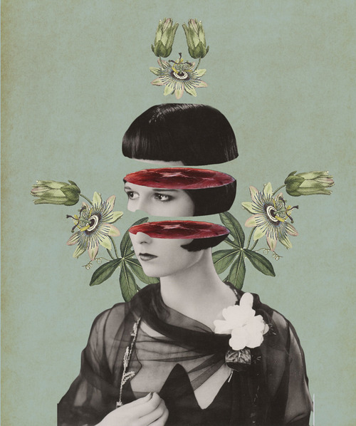 Julia Geiser. Collage Art