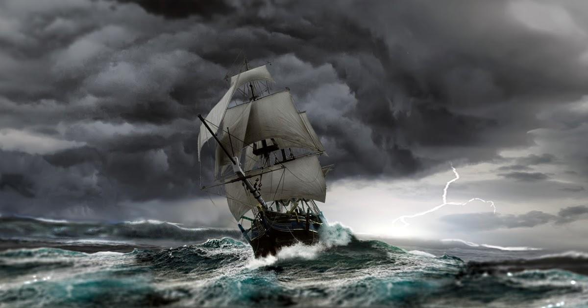 лишил белый корабль в шторм картинки того, как