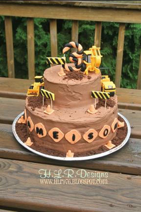 Heather Rolin Birthday Cake Construction Zone