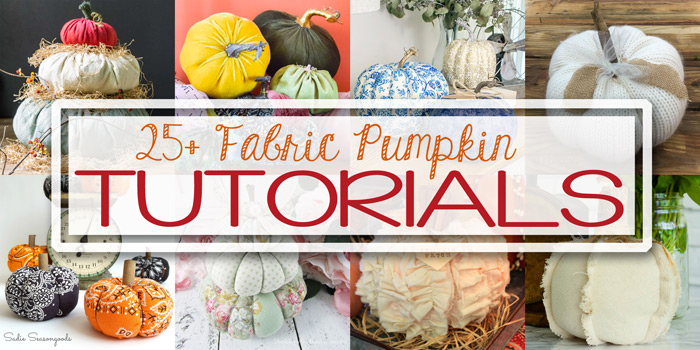 Fabric Pumpkin Tutorials