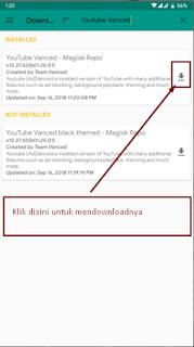 Cara Install Youtube Vanced Di Smartphone Android Kita