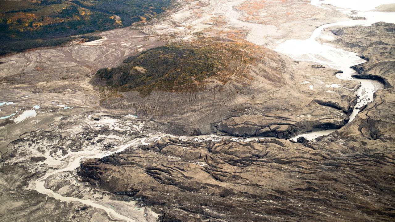 Un río entero de Canadá ha desaparecido en solo 4 días