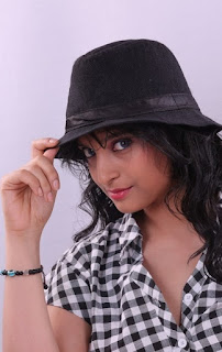 Divya Cute south Indian model in a cghecks shirt and Shorts Spicy Pictureshoot