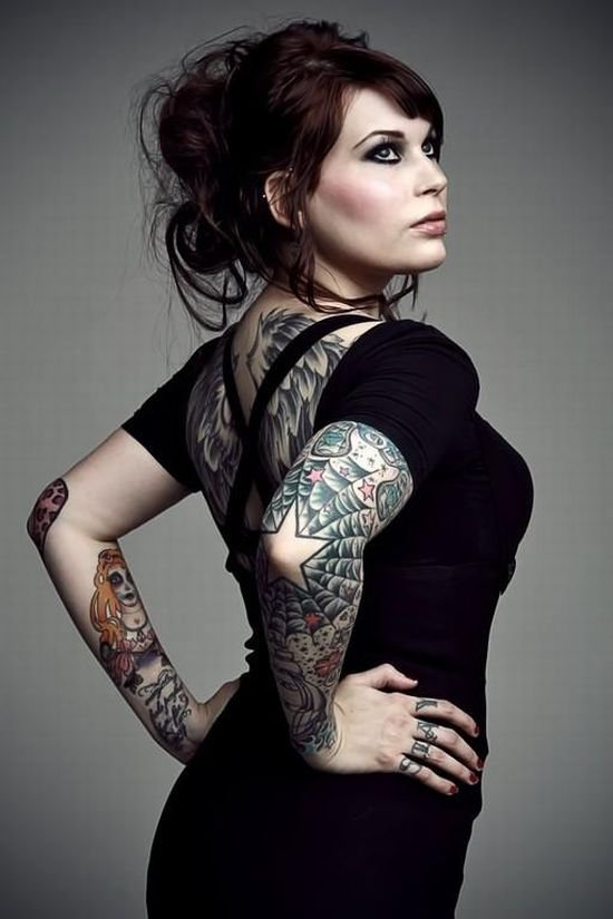 Tattoos for hot girls
