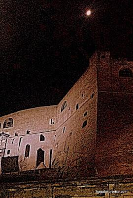 Castel Sant'Elmo (Castelo de São Elmo), Nápoles