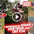 VIDEO - OS PIORES ROIAS DE CRF 230 NO MEIO DA TRIILHA , OS TRAVA TRILHA , TOMBOS DOS (ROIAS EM AÇÃO #15)
