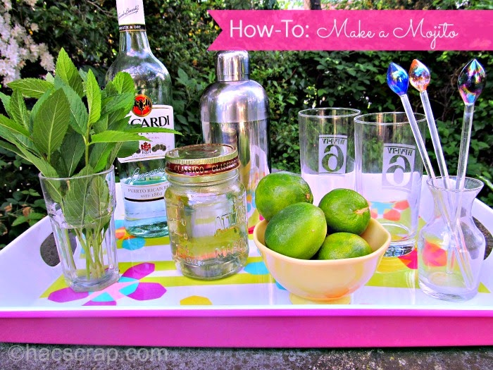 All the items you need to make the perfect summer mojito