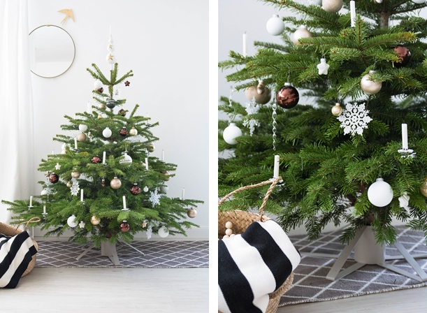 unser weihnachtsbaum kommt mit der post sinnenrausch der kreative diy blog f r wohnsinnige. Black Bedroom Furniture Sets. Home Design Ideas