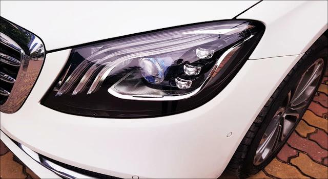 Hệ thống đèn trước Mercedes S450 L Luxury 2019