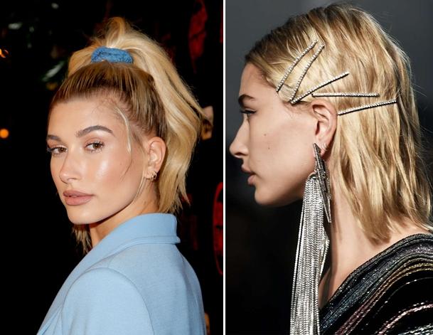Xuxinhas e grampos para cabelos anos 90