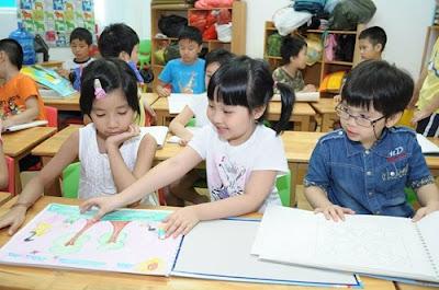 dạy kỹ năng nhóm cho trẻ ngay ở bậc học mầm non