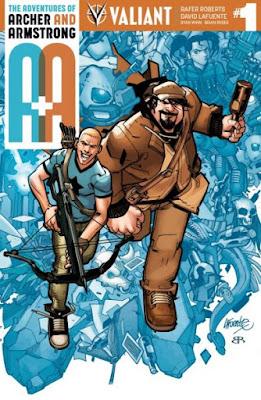 Reseña de Las aventuras de Archer & Armstrong: en el saco. Diversión en estado puro