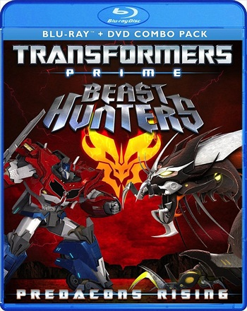 Transformers Prime Beast Hunters Predacons Rising 2013 Dual Audio Hindi 720p BluRay 800mb