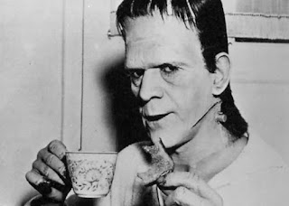 boris karloff tea and toast frankenstein film William Henry Pratt monster