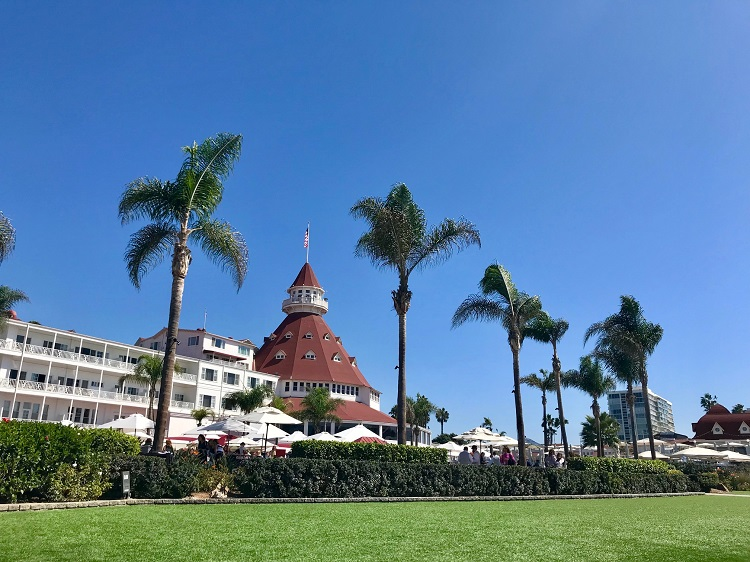 Coronado Island, Hotel Del Coronado, San Diego California