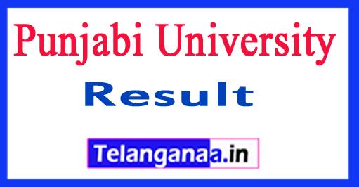 Punjabi University Exam Results 2018 Punjabi University UG PG Results