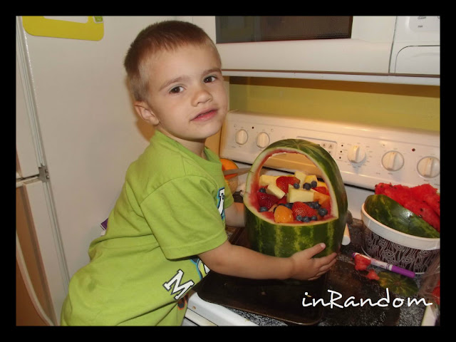 Put lots of fruit inside!