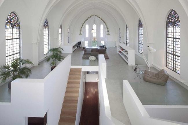 Igreja convertida em casa