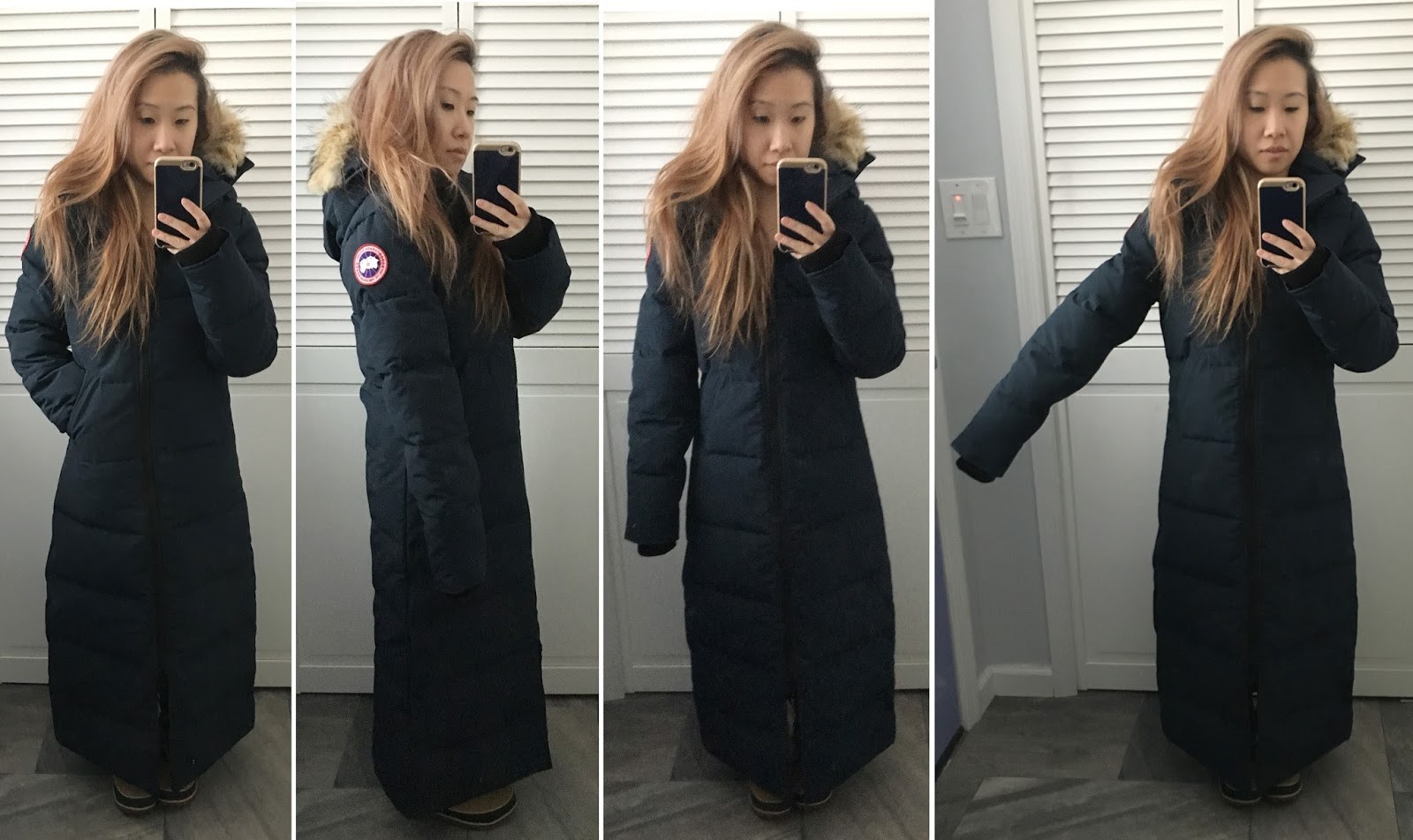 6d48c1be9fc ... top quality coat canada goose mystique in ink blue xxs. boots sorel  tivoli high ii