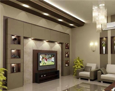 Best drywall gypsum wall design ideas for tv in living rooms