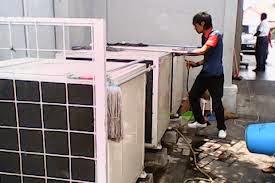 BONGKAR PASANG AC CENTRAL DI DAERAH PONDOK LABU - JAKARTA SELATAN