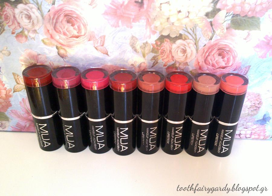 Jordana Matte Lipsticks Swatches Amp Review Toothfairys
