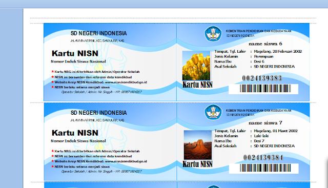 Download Aplikasi NISN Terbaru Dengan Tampilan Elegan