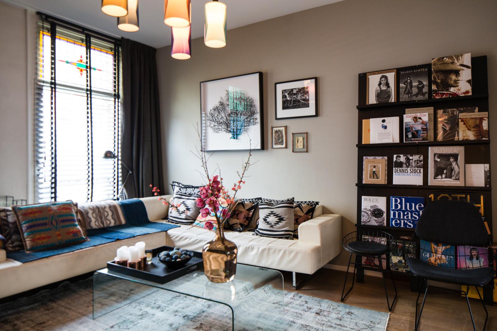 Eclectisch Familiehuis Amsterdam : Coffee in the sun appartement in amsterdam