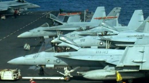 USS Dwight D Eisenhower Carrier Airwing CVW-7