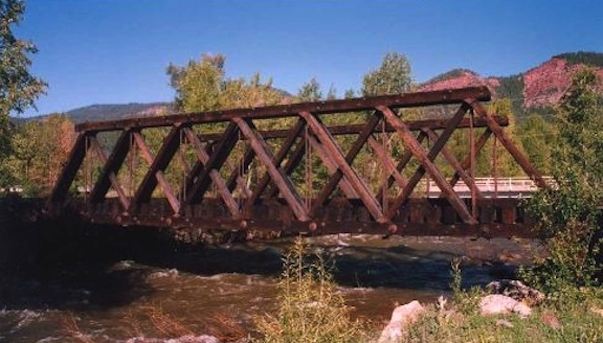 Campbell Wooden Truss Bridges And A Bit Of Central Valley Model