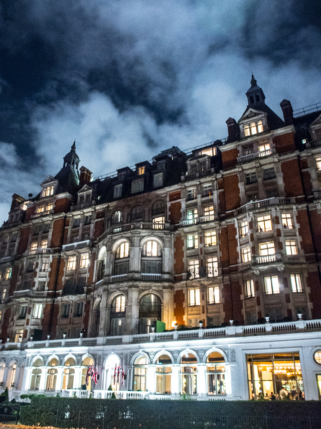 Christmas Mandarin Oriental Hyde Park London