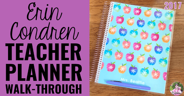 Get your teaching plans in order with this beautiful Erin Condren Teacher Planner, and get $10 off your first purchase!