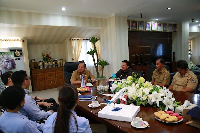 Sambangi Bitung, PT Garuda Indonesia Tawarkan Program Corporate Partner