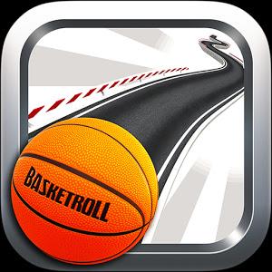 تحميل لعبة BasketRoll 3D Rolling Ball v1.3 مهكرة للاندرويد